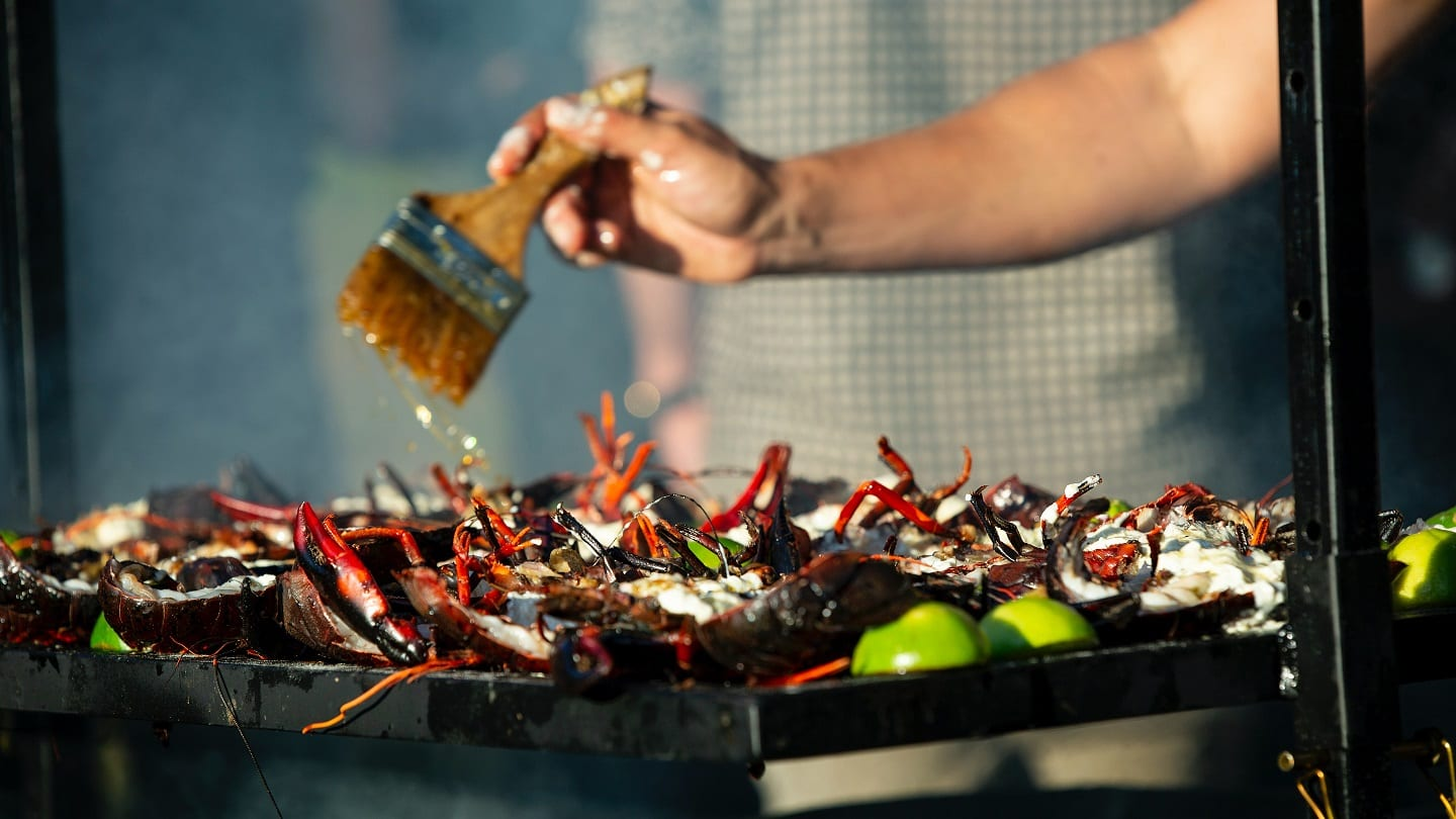 How to Grill a Whole Live Lobster