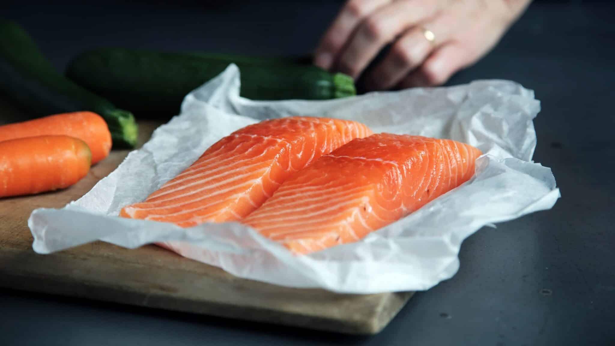Caroline Attwood Fresh Salmon